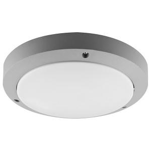 Светильник садово-парковый Техно DH030 230V E27 270x75mm серый без лампы
