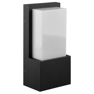 Светильник садово-парковый Техно DH0601 230V E27 245x120x80mm черный без лампы