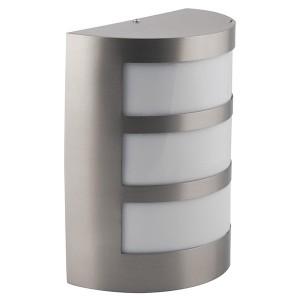 Светильник садово-парковый Техно DH017 230V E27 220x160x60mm серый без лампы