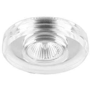 Светильник 8060-2 точечный MR16 G5.3/GU5.3 серебро-серебро/Silver-Silver круг
