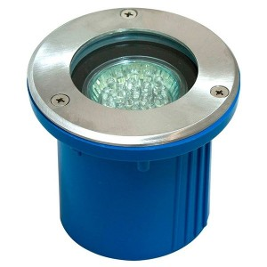 Светильник тротуарный/грунтовый 3732 7W 230V MR16 G5.3/GU5.3 белый круг