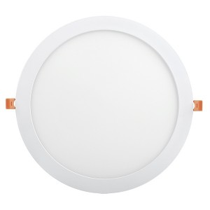 Светильник LED панель ДВО 1609 белый круг 24Вт 4000K IP20 295x25mm IEK