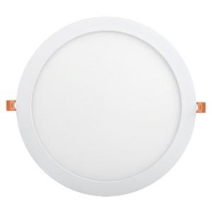 Светильник LED панель ДВО 1610 белый круг 24Вт 6500K IP20 295x25mm IEK