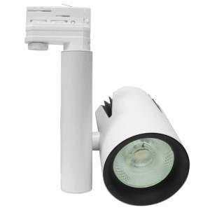 Трековый трехфазный светодиодный светильник Foton FL-LED LUXSPOT-S 45W 3000K 230V WHITE 4500Lm