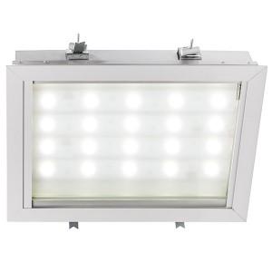 Светильник светодиодный GALAD АЗС LED-120 120W 4000К 230V 10200Lm IP65 -40/+40°С 346x251x124мм 5кг