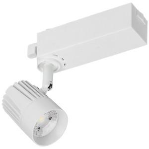 Светильник LED трековый 101 PRO 12Вт 4000K 24град белый однофазный с заземлением IEK