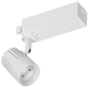 Светильник LED трековый 102 PRO 18Вт 4000K 24град белый однофазный с заземлением IEK