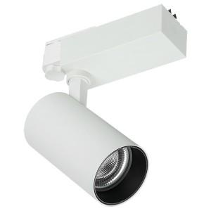 Светильник LED трековый 304 PRO 50Вт 4000K 36град белый трехфазный XTS IEK