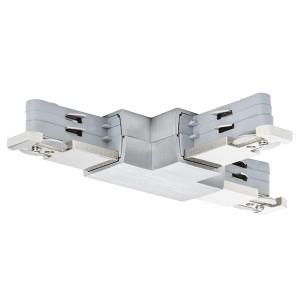 Коннектор Paulmann T-образный для двухфазного шинопровода VariLine max. 2x2000W 230V Pro Rail