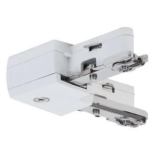 L - Коннектор Paulmann max. 1000W для шинопровода URail белый