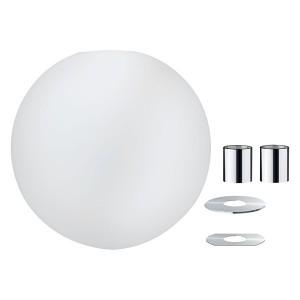 Плафон Paulmann Alari под трековую систему URail 2Easy D300mm (для 95436 и 95437) опаловое стекло