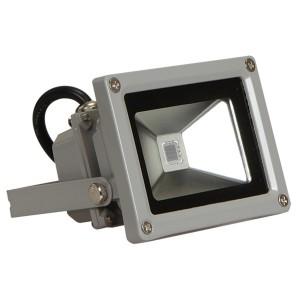 Прожектор светодиодный JazzWay PFL-10W RGB-RC/GR IP65 90x115x105mm