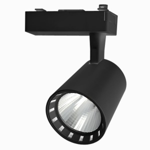 Трековый светодиодный светильник PTR 0315 15w 4000K 24° BL (чёрный) IP40 Jazzway