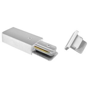 Комплект торцевых элементов PTR EC-WH белый Jazzway (сетевой коннектор и торцевая заглушка)
