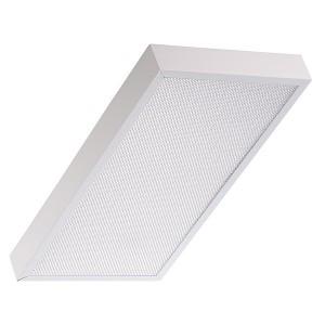 Накладной светодиодный светильник LED TL02 CLM ECP 21W 4000K 1730Lm IP40 595х295х55мм Микропризма