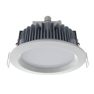 Встраиваемый светодиодный светильник LED TLDR0806 1 28W 4000K 2560Lm IP65 D220мм Опал (лист)