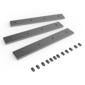 Комплект креплений для монтажа в линию светильника Universal-Line (3 пластины и винты)