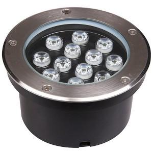 Светодиодный светильник PGR R180 12W 4000K 30° Сhrome IP65 Jazzway (встраиваемый)