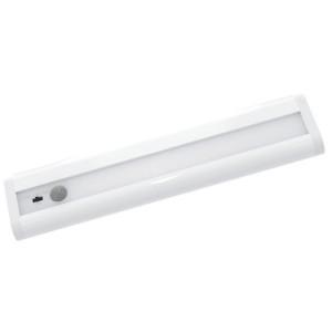 Cветодиодный сенсорный светильник 2.5W 105Lm линейный белый 215х47х18mm питание от AA 4шт.