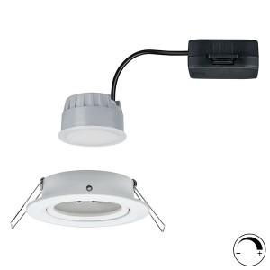 Светильник встраиваемый Paulmann Nova Coin 3 step DIM LED 1x6.5W (100%/50%/25%/off)