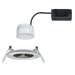 Светильник встраиваемый Paulmann Nova Coin LED 1x6,5W Матовое железо
