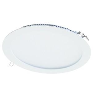 Светильник ультратонкий встраиваемый светодиодный Даунлайт СВО (белый) 18 Вт 3000К TDM