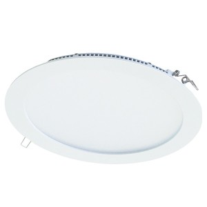 Светильник ультратонкий встраиваемый светодиодный Даунлайт СВО (белый) 12 Вт 3000К TDM