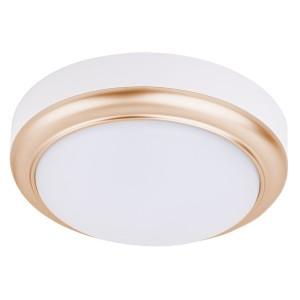 Светильник накладной LED ДПО Антарес 15Вт 4000К круг 180*66 мм мат.золото IP54 TDM