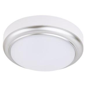 Светильник накладной LED ДПО Антарес 15Вт 4000К круг 180*66 мм мат.серебро IP54 TDM