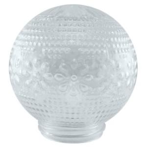 Рассеиватель шар-стекло (прозрачный) 62-010-А 85 Цветочек TDM