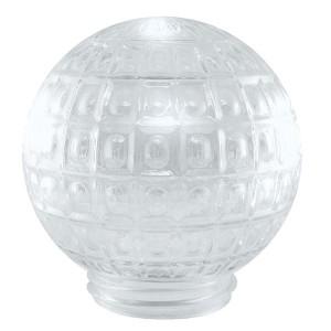 Рассеиватель шар-стекло (прозрачный) 62-020-А 85 Ежик TDM