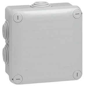 Коробка квадратная для открытой проводки Legrand Plexo IP55 105х105/55мм