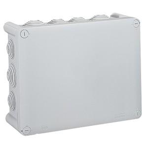 Коробка квадратная Legrand Plexo IP 55 220x170/86 IK 07 14 кабельных вводов серый