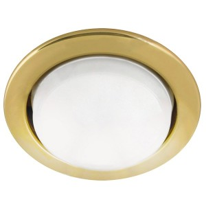 Светильник встраиваемый СВ 01-06 GX53 220 В 50 Гц золото TDM