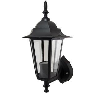 Светильник 6060-01 садово-парковый шестигранник, 60Вт, вверх, черный TDM