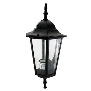 Светильник 6060-01Р садово-парковый шестигранник, 60 Вт, вверх, черный, в разборе TDM
