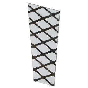 Стекло матовое Решетка (комплект 6 шт.) для светильников 6060 шестигранник (металл) TDM