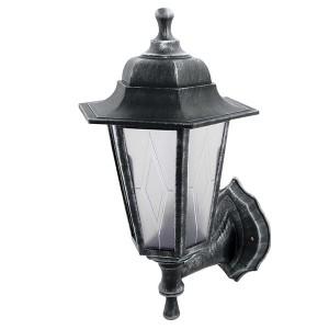 Светильник садово-парковый НБУ 06-60-001 шестигранник, настенный, пластик, серебро TDM