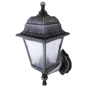 Светильник садово-парковый НБУ 04-60-001 четырехгранник, настенный, пластик, серебро TDM