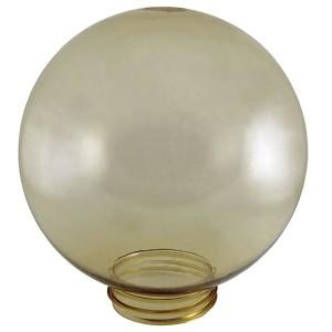 Рассеиватель шар ПММА 160 мм золотой (резьба А 85) TDM