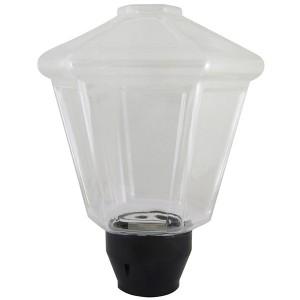 Светильник НТУ 05- 40-111 Латерна IP54 (прозрачный ПММА, основание А85, Е27) TDM