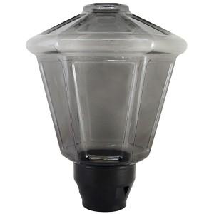 Светильник НТУ 05- 40-112 Латерна IP54 (дымчатый ПММА, основание А85, Е27) TDM