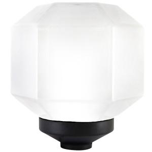 Светильник НТУ 05-100-210 Поликуб IP54 (опал ПММА, основание 145, Е27) TDM