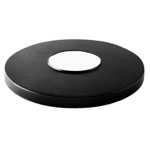 Декоративная накладка на опору d-60 мм, цвет черный, TDM