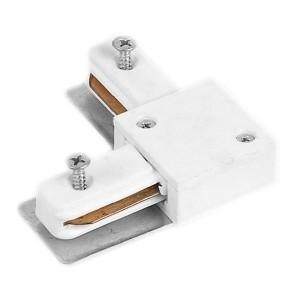 Коннектор угловой LD1001 для шинопровода белый