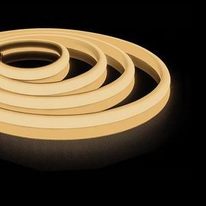 Cветодиодная неоновая LED лента Feron LS651 180SMD(2835)/м 14,4W/м 3000К 12V 5000x13x13mm IP68
