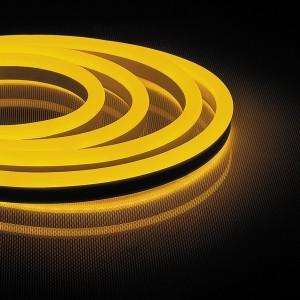 Cветодиодная неоновая LED лента Feron LS720 120SMD(2835)/м 9,6W/м желтый 220V IP67 длина 50м