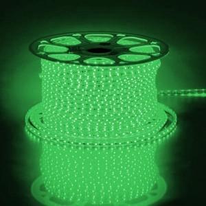 Cветодиодная лента Feron LS704 LED-RL 60SMD(2835)/м 4.4W/м зеленый 220V IP65 длина 100 С LD177/LD117