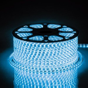 Cветодиодная лента Feron LS704 LED-RL 60SMD(2835)/м 4.4W/м синий 220V IP65 длина 100м С LD177/LD117