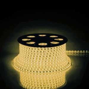 Cветодиодная лента Feron LS704 LED-RL 60SMD(2835)/м 4.4W/м 2700К 220V IP65 длина 100м С LD177/LD117